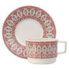 Sirkus cup and saucer, red Stylework Finland