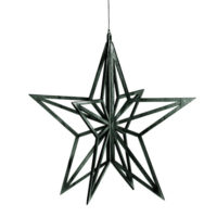 wooden-star-black stylework finland